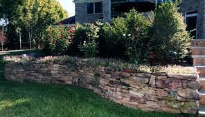 garden walls stone garden decor stunning outdoor backyard decoration ideas using