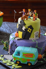 halloween bday party ideas scooby doo halloween birthday cake by toycake com toycake com