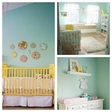 baby room casual baby nursery decoration using yellow baby