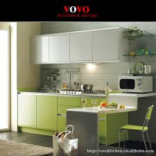 Colour Of Kitchen Cabinets New Modular Kitchen Cabinet Green Colour On Aliexpress