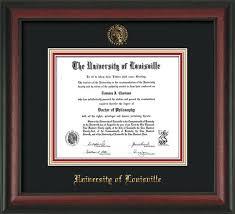 auburn diploma frame u louisville diploma frame rosewood w uofl seal black