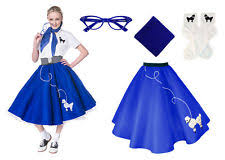 50s Halloween Costumes Poodle Skirts Poodle Skirt Ebay