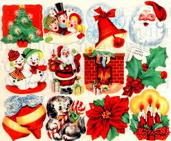 christmas stickers retro digital vintage christmas stickers vintage digital