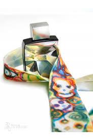 halloween ties pirate halloween goth silk necktie