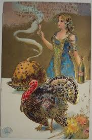 vintage thanksgiving postcards a feast for the houston press