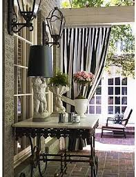 Black Outdoor Curtains Summer Floral Moments Part 1 Backyard Porch And Patios