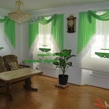 Wohnzimmer Jalousien Gemütliche Innenarchitektur Küche Vorhänge Grün Gardinen Vorhnge