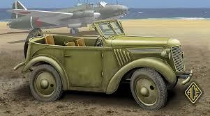 japanese military jeep ace model kurogane type 95 model 5