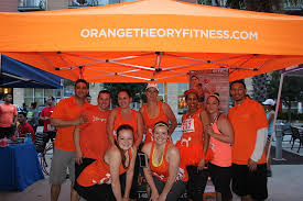 photo booth houston one year anniversary celebration at orange theory pearland