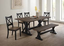 6 piece dining table and chairs dining room total furniture kenosha wi