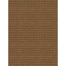 foss checkmate all weather walnut 6 x 8 ft area rug patio indoor