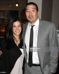 personality lisa ling and her husband dr paul song attend a letter to picture id165691632