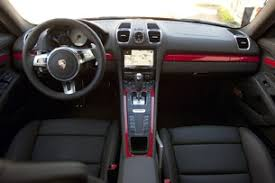 Porsche Cayman Interior 2014 Porsche Cayman S First Drive Autoblog