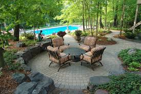 Garden Patio Bricks At Lowes Patio Pavers Lowes Patio Traditional With Boulders Brick Paving
