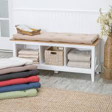 Cushioned Storage Bench Cushioned Storage Bench Home Design