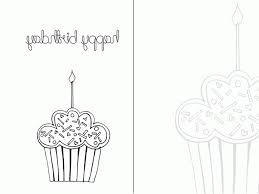 day printable happy birthday colouring card tarjeta 473135