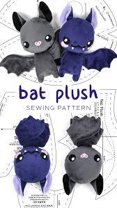 bat plush pattern by sewdesune on deviantart