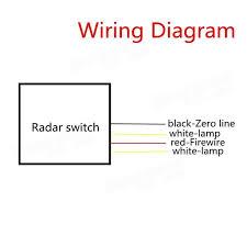 220v microwave radar sensor auto infrared body motion sensor