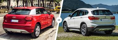 bmw jeep red audi q2 vs bmw x1 compact suv comparison carwow