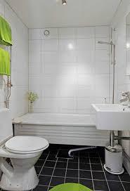 All White Bathroom Bathroom White Bathroom With A Black Ceramic Tile Floor Narrow