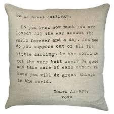 Sweet Home Best Pillow To My Sweet Darlings Pillow U2013 Sugarboo U0026 Co