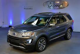 Ford Explorer 2016 Interior 2016 Ford Explorer Gets A New Face 2 3l Ecoboost Engine And