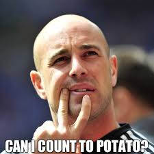 Count To Potato Meme - meme pepe reina can i count to potato