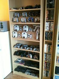 Cool Shelf Ideas Interior Gaming Shelf Ideas 15 Cool Ways To Video Game Controller