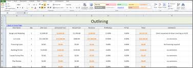 construction bid proposal template excel about