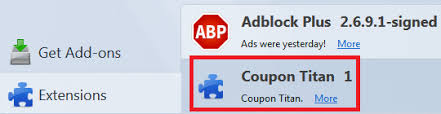 remove ads by coupon titan from chrome firefox virus removal