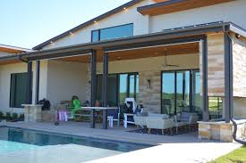 Motorized Screens For Patios How Motorized Screens Keep This Texas Home Cool