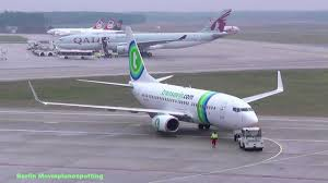 siege transavia transavia airlines boeing 737 7k2 ph xrv mit pushback und take