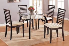 Glass Kitchen Tables by Dining Tables Round Glass Dining Table Set Glass Top Pedestal