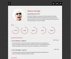 Resume Template Html 20 Free And Premium Vcard Cv Web Templates Xdesigns