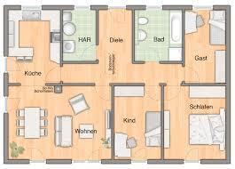 Haus Grundriss Haus Der Bungalow 110 Hausbau24
