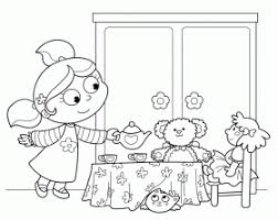 tea party coloring pages u20ac birthday printable coloring home