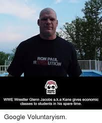 Glenn Meme - iron paui ution weird farts wwe wrestler glenn jacobs aka kane