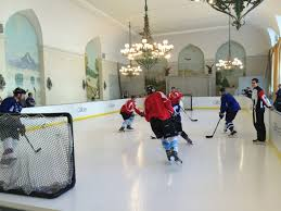 synthetic ice hockey rink glice artificial ice