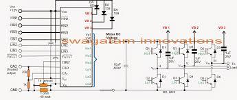 3 phase brushless bldc motor driver circuit brushless motor