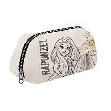 disney princess rapunzel cosmetic pouch white colour