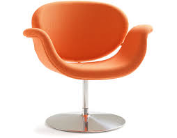 tulip midi chair with disk base hivemodern com
