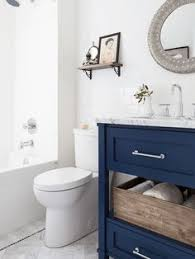 Navy And White Bathroom Ideas - fixer upper fresh and fun ranch update in the heart of waco