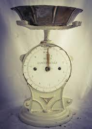 Vintage Kitchen Scales Antique Family Scale Weighing Balance Kitchen Scale Kuchenwaage