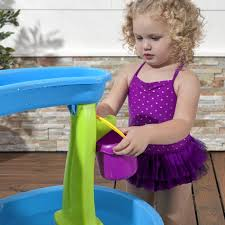 step 2 rain showers splash pond water table step2 rain showers splash pond sand and water table reviews