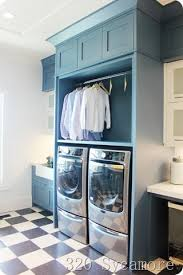 Laundry Room Storage Cabinet by Best 25 Blue Laundry Rooms Ideas On Pinterest Laundry Room