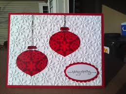 sistochris scrapbooking and paper crafts simple ornament