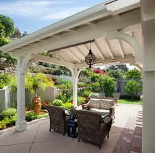 Roof Patio by Santa Barbara Roofing Patio Traditional With Covered Transitional