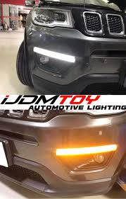 amazon com ijdmtoy complete set yellow lens fog lights foglamp 16 best jeep led lights images on pinterest jeep jeeps and
