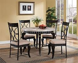 unique dining room sets unique marble kitchen table dining room top black
