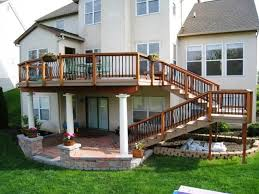 Deck With Patio by 84 Best Elevated And Raised Deck Ideas Images On Pinterest